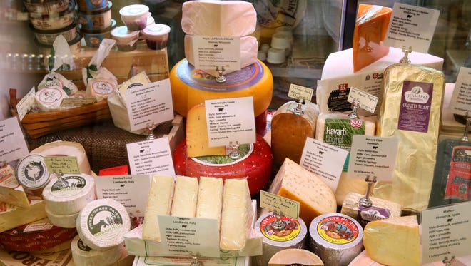 Cheeses from Village Cheese Shop in Wauwatosa will be included in the shop's first farm dinner on Aug. 5.