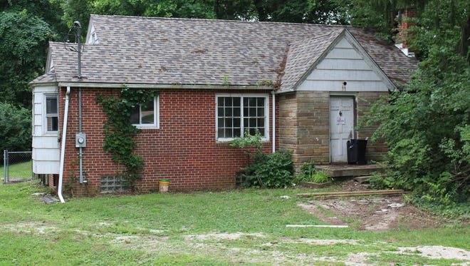The house at 845 Logan Road is seen here on Wednesday, Aug. 1, 2018. The Richland County Land Bank sold the house at auction last week.