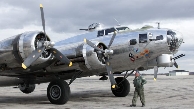 The Yankee Air Force's pride and joy, the B17 bomber Yankee Lady at Willow Run Airport, was the first to fly on a renovated runway there today. Yankee Air Force Museum officials announced today it will change its name and expand its mission and into new space, the former bomber plant at Willow Run. It still will offer rides in the B17 bomber.