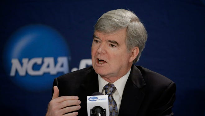 NCAA President Mark A. Emmert has a chance to send a powerful message with his handling of the North Carolina academic scandal.