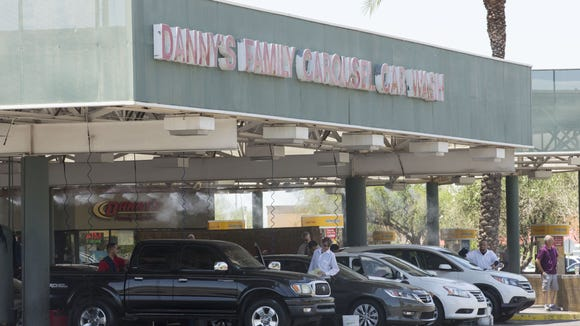 Lenders filed to foreclose on Danny's Family Car Wash,
