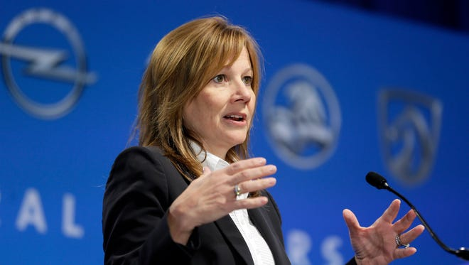 General Motors CEO Mary Barra says the company plans to get more aggressive to win