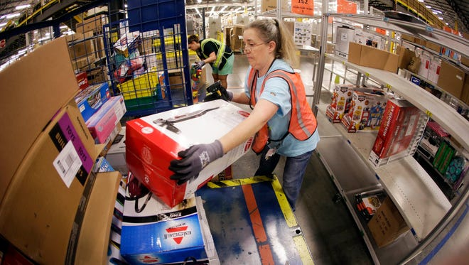Retail was among the biggest job gainers last month as stores ramped up for the holiday season.