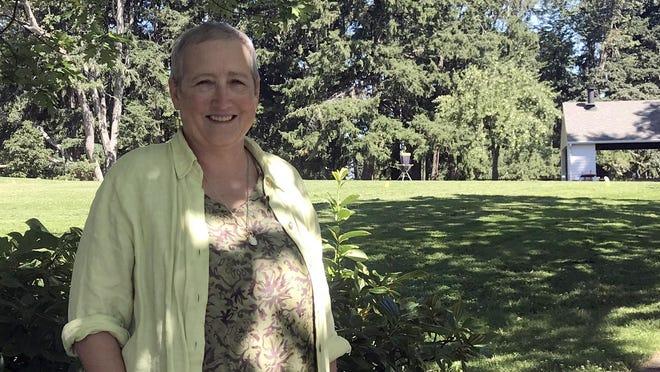 Barbara Dellenback of Eugene produces Lives Recorded Live.