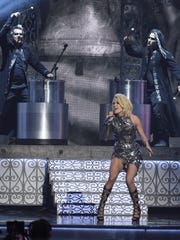 Carrie Underwood performs during the 51st Academy of