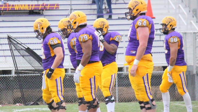 Western's offensive line has done a good job of buying its quarterback time to throw the football.