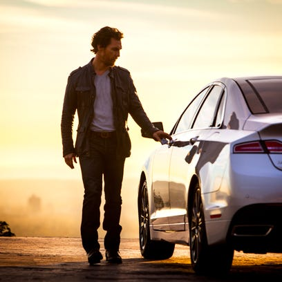 Matthew McConaughey for Lincoln Motor Companyin Los Angeles' Griffith Park