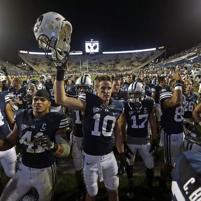 Utah State returns 15 starters from last season, but most importantly, gets back dual-threat quarterback Chuckie Keeton who missed most of the season last year due to an injury.