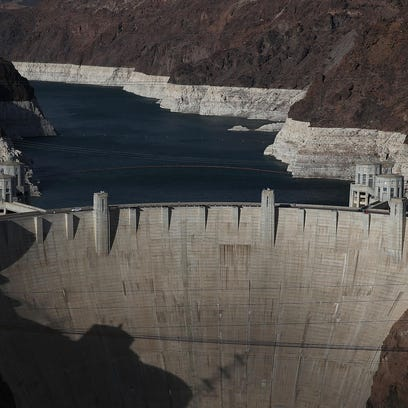 Projections show drop in Lake Mead, not enough for shortage