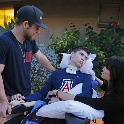 A blink, a frown: Finding hope after Buckeye grad's massive stroke