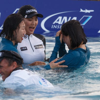So Yeon Ryu remained the calm in the storm during the controversial 2017 ANA Inspiration