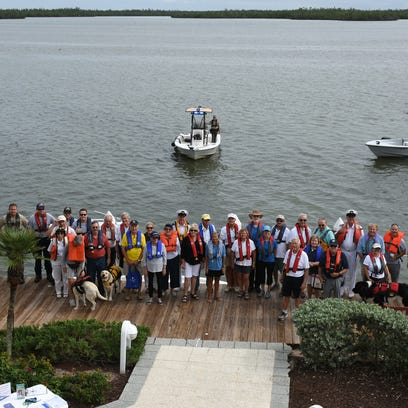 'Buoyant' gathering: Marco boating groups join worldwide effort to promote life jacket use