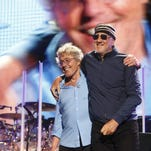 Roger Daltrey, left, and Pete Townshend of The Who, which will be on the bill for the iHeartRadio Music Festival this fall.