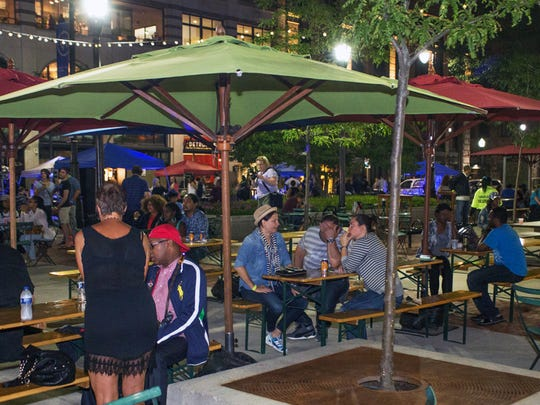 Capitol Park hosts summer Saturday nights with food and drink specials.