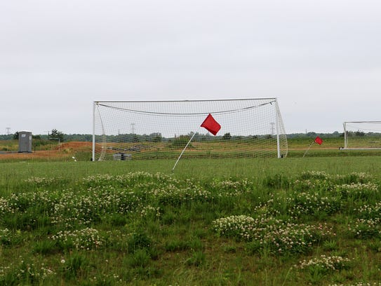 Only six fields at the Delaware Sports Complex in Middletown