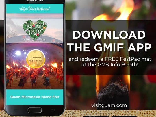 The Guam Micronesia Island Fair mobile app is now available for download, according to the Guam Visitors Bureau.