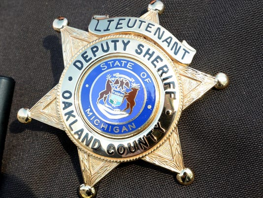 SLH PhotoOfOaklandCountySheriffBadge