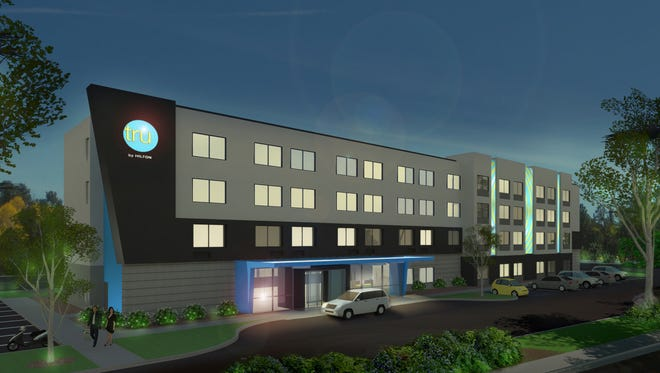 Springwood Hospitality plans to open Tru by Hilton hotels in Manchester Township and East Lampeter Township in Lancaster County in mid-2017.