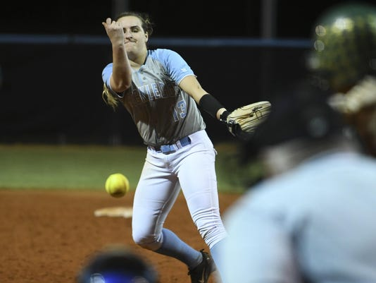 High School Softball: Viera at Rockledge