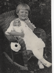 Louise Tostenrud, age 1.