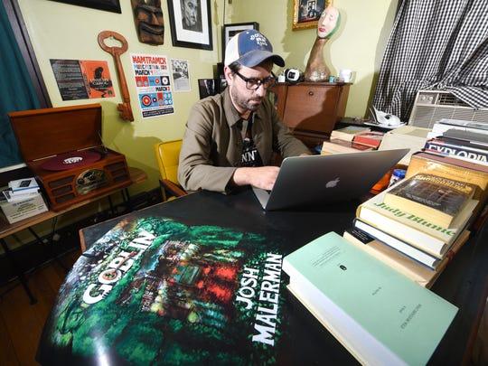 """Malerman's Detroit-centered novel, """"Black Mad Wheel,"""""""