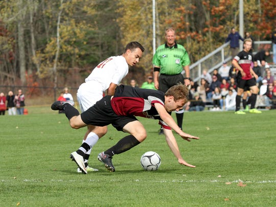 Scenes from Saturday's Section 4 Class AA boys soccer