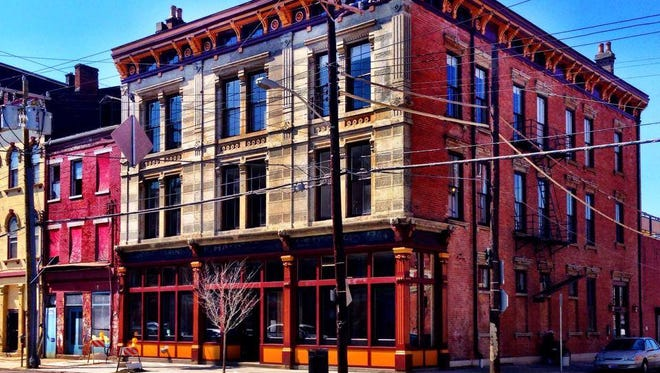The recently renovated Crown Building, 1739 Elm St. across from Findlay Market, will be the site of May 30's The Red Door project event.