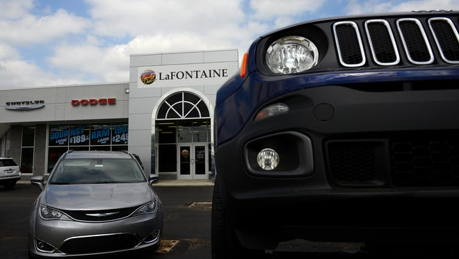 The former Bill Snethkamp Chrysler Jeep and Dodge dealership on Pennsylvania Avenue on Lansing' s southside is now owned by LaFontaine Automotive group, which intends to still build a $5 million dealership next door, as originally planned by Snethkamp. Pictured here Monday, June 20, 2016.