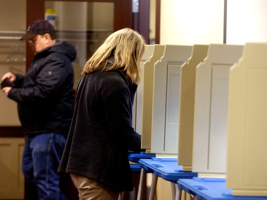 Election turnout was light during voting in Wauwatosa at the fire station at 1601 Underwood Ave, Tuesday, February 20, 2018.  The most notable election of interest state-wide is the state Supreme Court primary although Wauwatosa has a primary aldermanic race as well.