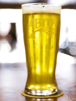 Seersucker Summer Pils served at the Abita Brewing Company tap room, in Abita Springs August 2, 2016.
