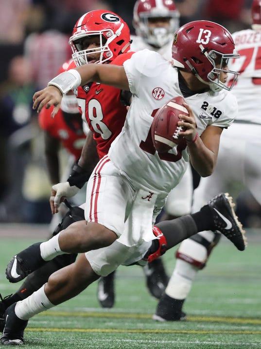 Alabama vs Georgia in college championship