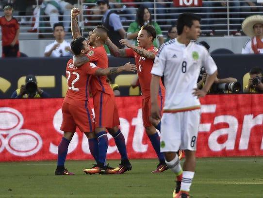 Chile viene de propinarle a México su peor goleada