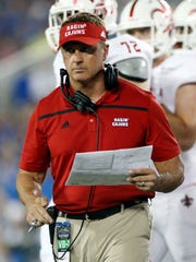 Coach Mark Hudspeth was fired after seven seasons at UL.