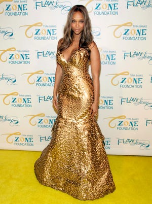 Tyra Banks attends the Flawsome Ball on Tuesday, May 6, 2014, in New York.