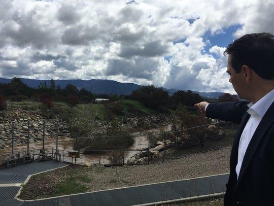 Ron Merckling, conservation manager at Casitas Municipal