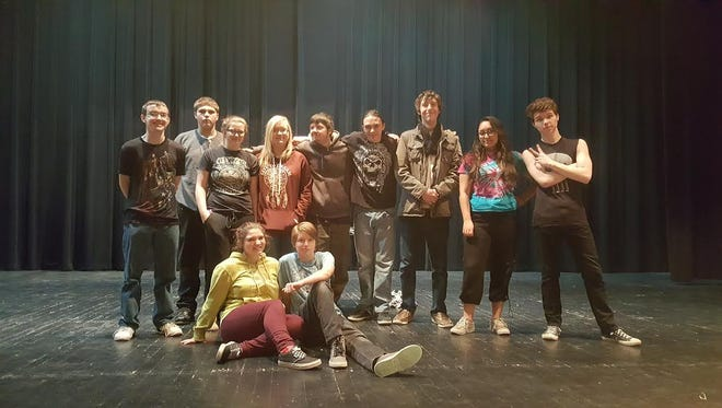 """Ruidoso High School theater students present """"A Cold Day In Hell"""" by Keith J. Powell  at 7 p.m. Thursday at the RHS Performing Arts Center, 125 Warrior Drive."""