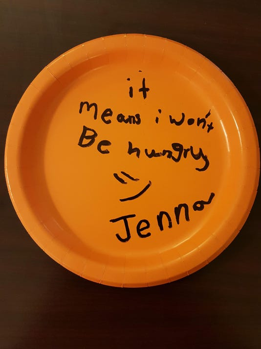 food bank paper plate 1