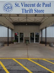 The St. Vincent de Paul thrift store in Wausau on June 15, 2016.