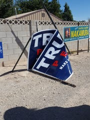 More than five signs have been reported vandalized by the Republican Party of Eddy County.