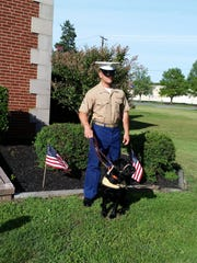 John and Sandy Ward's grandson, U. S. Marine Corporal