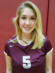 Danielle Bradley, First Baptist Academy volleyball