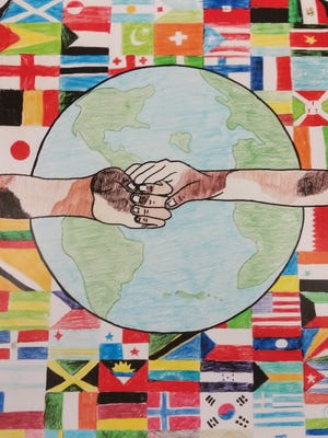 Throughout January, the Zora Neale Hurston Branch Library will display local submissions for the Lion's Club's 30th Annual International Peace Poster Contest.