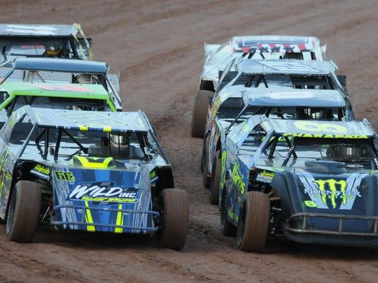 Races take place at the Oshkosh SpeedZone Friday nights.