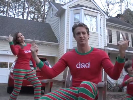 Watch: Family's 'Christmas Jammies' holiday video is going