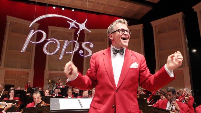 The exuberant Pops maestro John Morris Russell