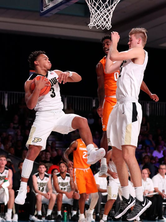 NCAA Basketball: Battle 4 Atlantis-Purdue vs Tennessee