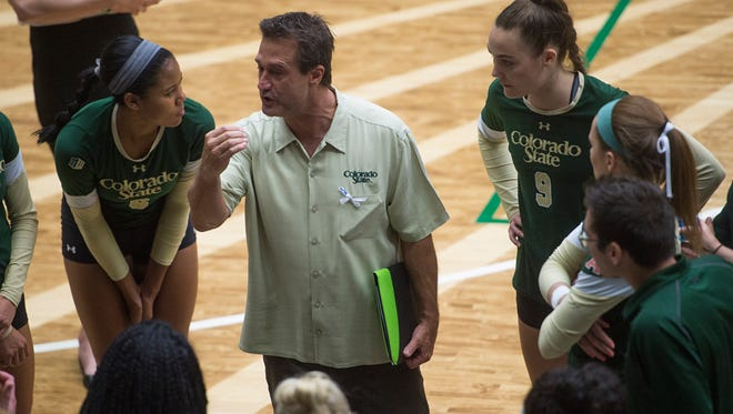 The CSU volleyball team dropped out of the Top 25 for the first time in 47 weeks Monday.