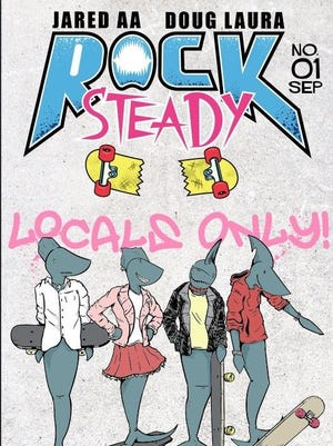 "The first issue of ""Rock Steady"" will be released at the Indy Comix Party on Saturday."