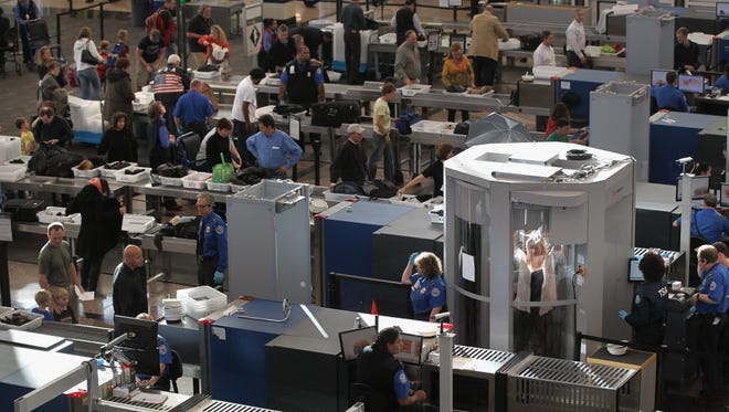 The Transportation Security Administration checkpoint in Denver on Nov. 22, 2010.