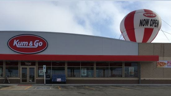 The new Kum & Go is open at Russell Street and Minnesota Avenue.